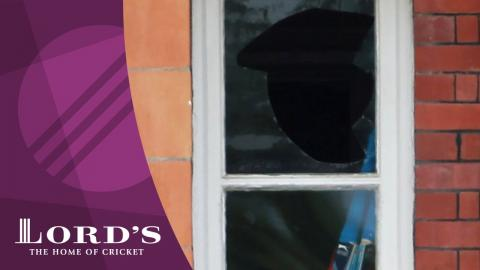 Matt Prior on breaking the Lord's dressing room window | Lord's Rewind