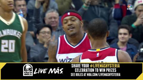 Taco Bell #LiveMasHYSTERIA: Bradley Beal is Back!