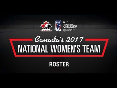 2017 Women's Worlds Roster