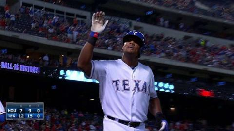 HOU@TEX: Beltre homers to complete third career cycle