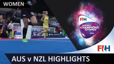 Australia v New Zealand - Match Highlights #HCT2016