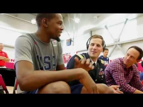 Army Major Scotty Smiley's Inspirational Story and Time with the USA Basketball Men's National Team