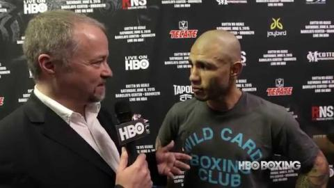 HBO Boxing News: Miguel Cotto Interview