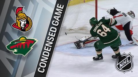01/22/18 Condensed Game: Senators @ Wild