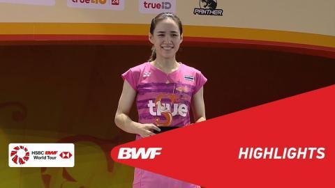 Princess Sirivannavari Thailand Masters 2018 | Badminton WS - F - Highlights | BWF 2018