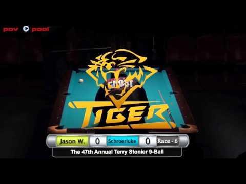 47th Terry Stonier 9 Ball - #14 Jason Williams vs Dave Shroerluke