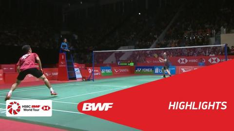 DAIHATSU Indonesia Masters 2018 | Badminton MS - SF - Highlights | BWF 2018