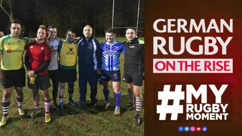 German rugby on the rise | #MyRugbyMoment