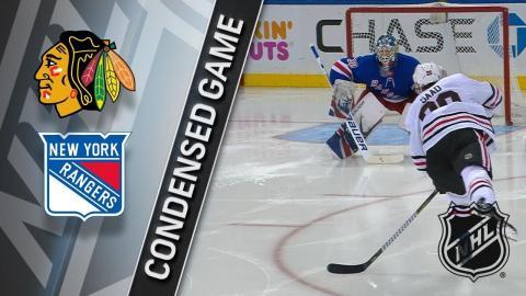 01/03/18 Condensed Game: Blackhawks @ Rangers