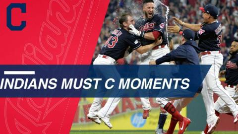 Must C: Top Moments from the 2017 Indians season