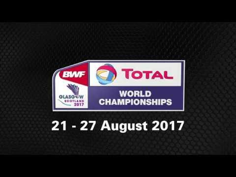 TOTAL BWF World Championships 2017 | Badminton 21 - 27 August | Kidambi Srikanth