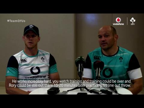 Irish Rugby TV: Rory Best - Captain Fantastic