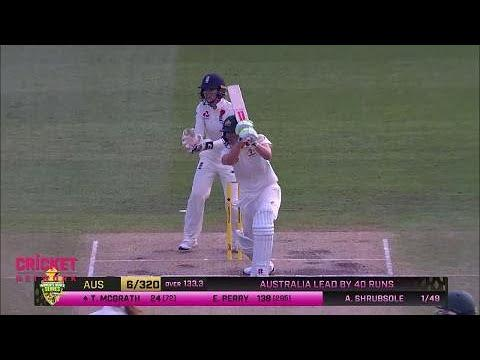 Australia v England - Women's Ashes Test, day three