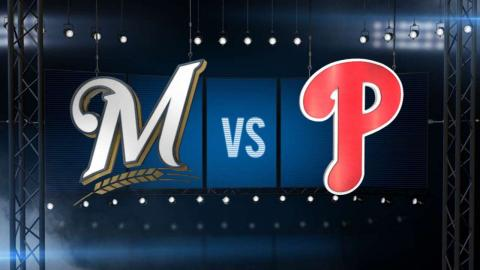 7/1/15: Brewers rack up 17 hits in win over Phillies