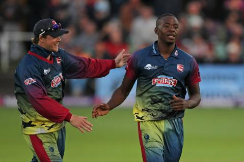 Rabada shines in narrow win, Kent Spitfires v Sussex Sharks
