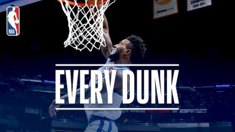 Jordan Bell, Reggie Jackson, and Every Dunk From Friday Night | December 1, 2017