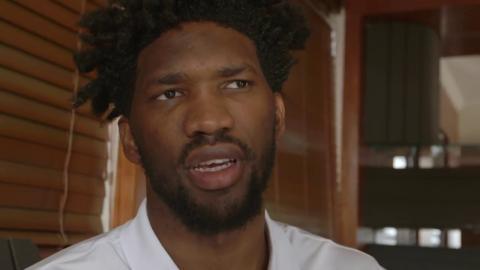 Joel Embiid Visits Cassper Nyovest: 2017 NBA Africa Game