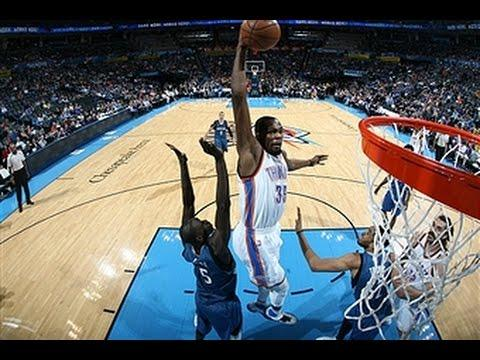 Kevin Durant's Greatest Dunks