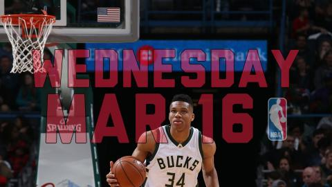 NBA Daily Show: Mar. 16 - The Starters