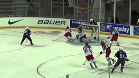 Highlights: USA vs Czech Republic - 2016 IIHF Women's U18 World Championship