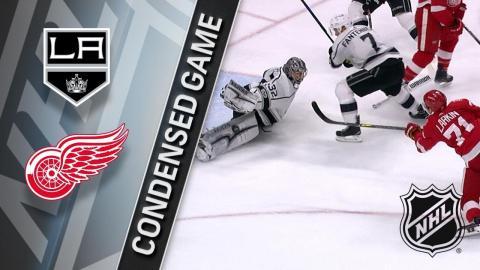 11/28/17 Condensed Game: Kings @ Red Wings