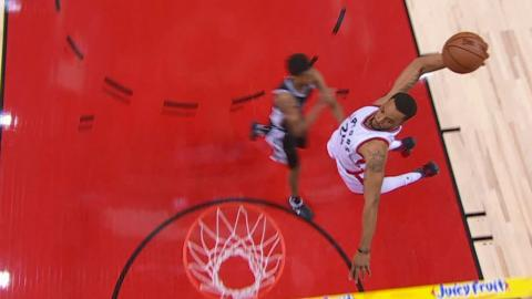 Norman Powell Steals and Flies for the Tomahawk | 01.24.17