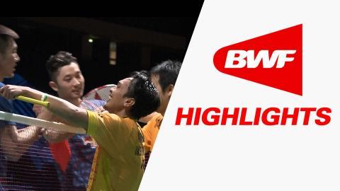 Dubai World Superseries Finals 2015 | Badminton F – Highlights