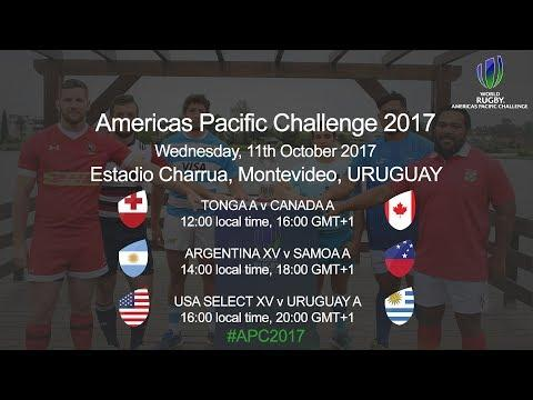 World Rugby Americas Pacific Challenege 2017 - Argentina XV v Somoa A