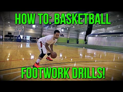 How To: Basketball Footwork Drills!!