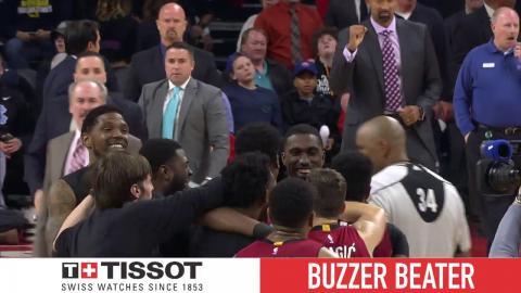Tissot Buzzer Beater: Whiteside Tip-In Wins It for Heat   March 28, 2017