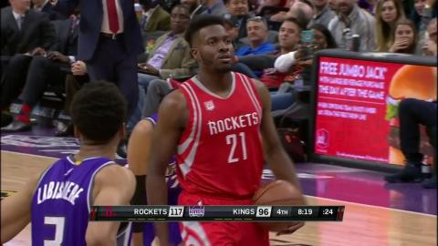 Chinanu Onuaku Brings Back The Underhanded Free Throw Again | Swishes Both Free Throws
