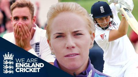 Broad's 8-15? Knight's 157? That Stokes Catch? - Lauren Winfield's Top 3 Ashes Moments