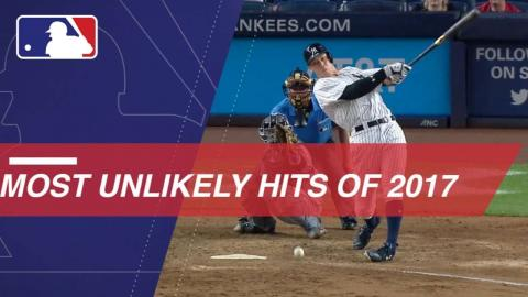 Batters thankful for these unlikely hits from 2017