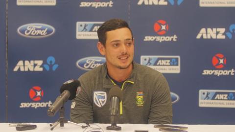 Bavuma and De Kock give Proteas vital first innings lead