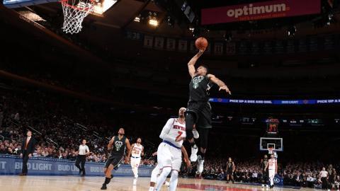 Giannis Antetokounmpo Top 10 Plays: 2017 NBA Season