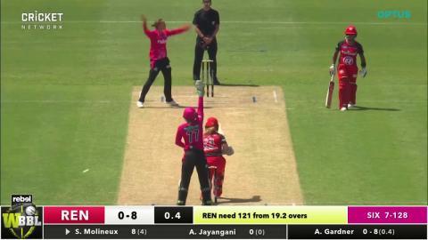 Melbourne Renegades v Sydney Sixers, WBBL|03