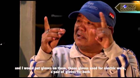 """""""Chocolatito"""" Gonzalez' Father Talks About Their Humble Roots"""