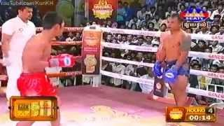 Khmer Boxing, Lers Terk VS Thai, SEATV Boxing, 03 May 2015