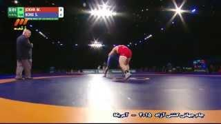 Iran Vs Turkey - 2015 Wrestling Freestyle World Cup In Los Angeles (HD) (Full)