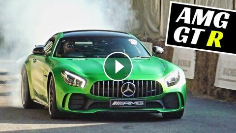 Mercedes-Benz AMG GT R - MIVE Burnouts, Donuts & Powerslides ... on green shopping cart, used ez go electric cart, green volleyball cart, green go cart, green club cart, green golf karts,
