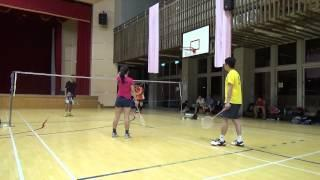 20150503FUMA Badminton Club XD美慧+HUNTER Vs文馨+阿嘉