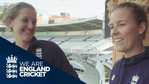 Sarah Taylor and Alex Hartley Show Us Around Lord's Before World Cup Final - WWC 2017
