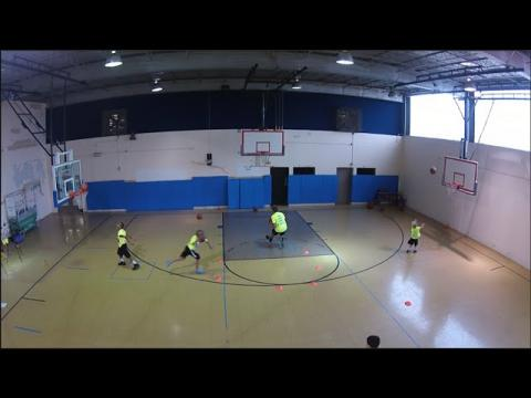 Basketball Drills: Teddy Dupay Downhill Dribbling And Finishing
