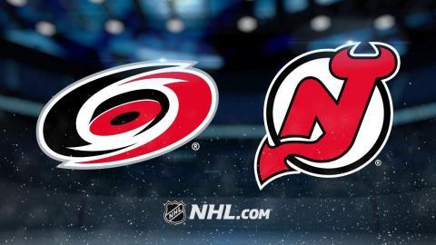 Hischier, Noesen lead Devils past Hurricanes, 5-2
