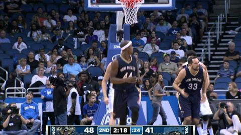 Anthony Davis Drops 33 Points with 16 Boards in Orlando