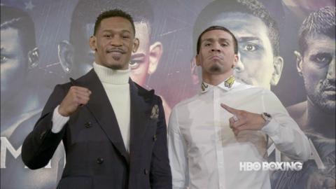 Jacobs vs. Arias Press Conference Recap (HBO Boxing)