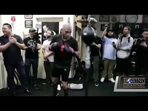 MIGUEL COTTO WORKOUT HIGHLIGHTS