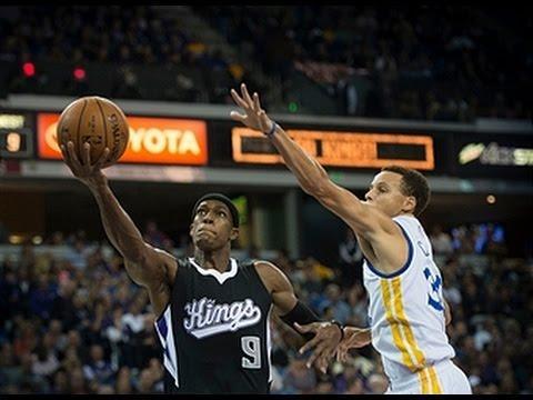 Steph Curry and Rajon Rondo Duel in Sacramento!