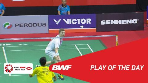 Play Of The Day | Badminton Quarterfinals - Perodua Malaysia Masters 2018 | BWF 2018