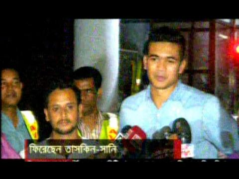 "Taskin Ahmed & Sunny""s Bowling Test Finished & Reached in Dhaka,Talking On Mic,Bangla Cricket News"